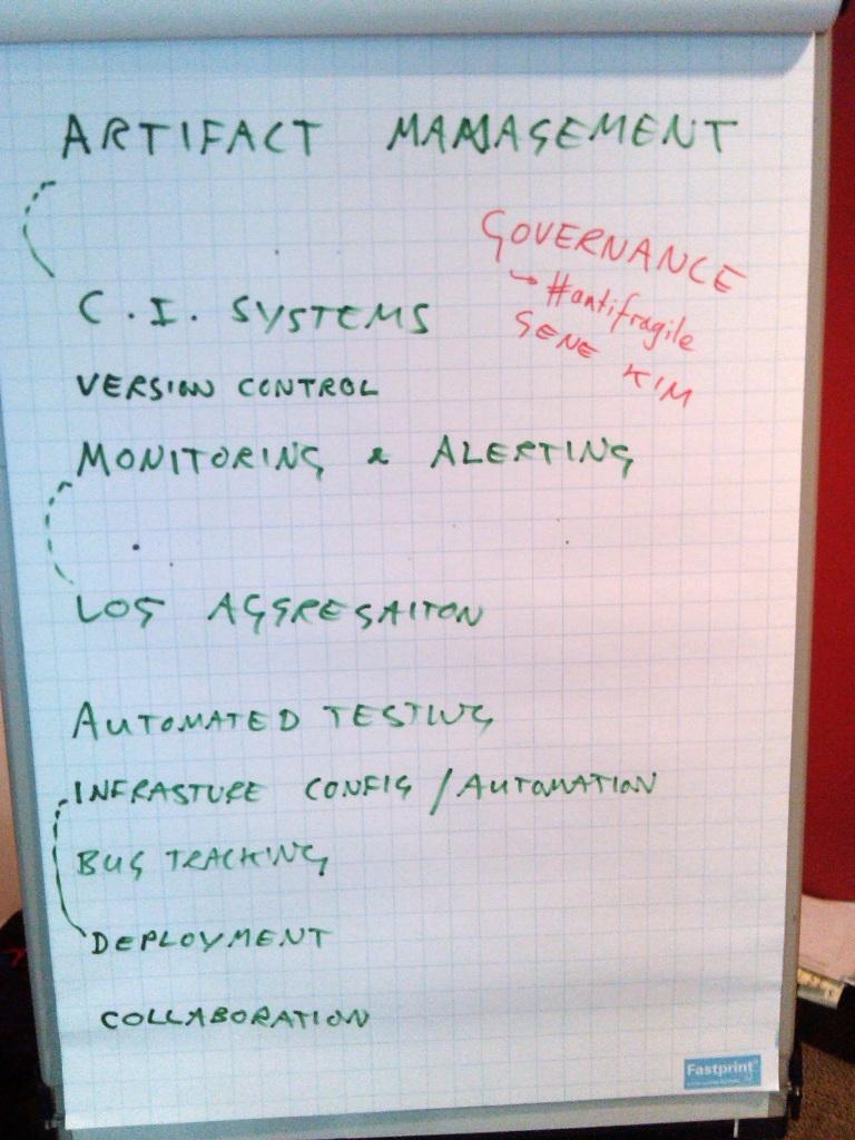 DevOps tools capabilities